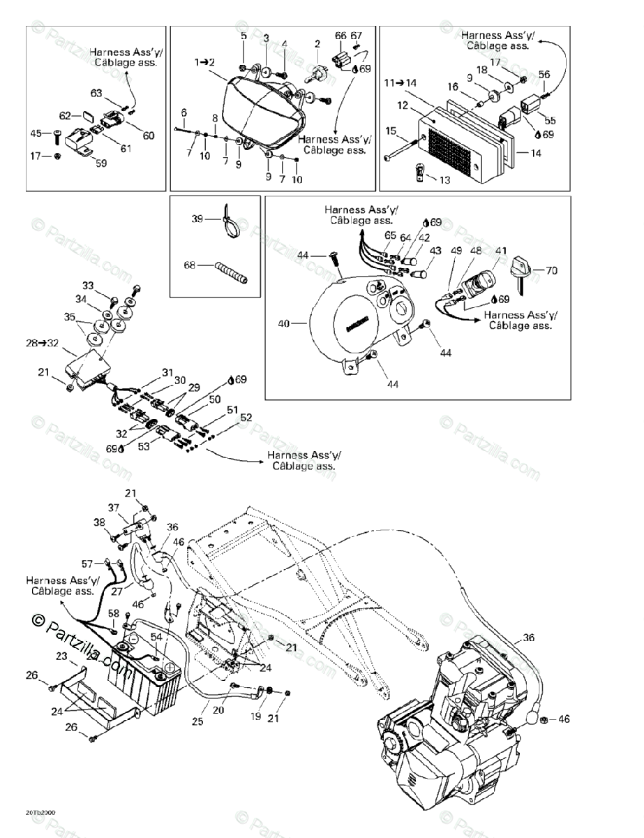 [NS_9365] Diagram As Well Can Am Outlander 800 As Well Can