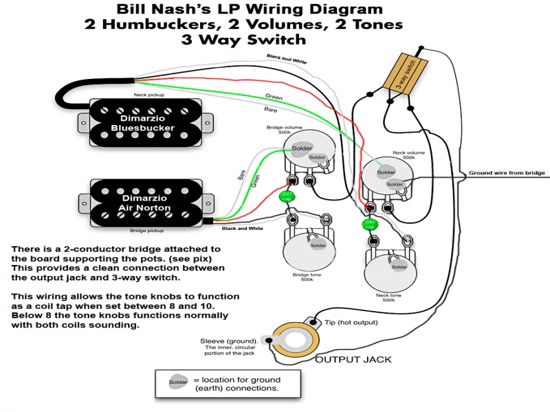 Wiring Diagram Gallery: Gibson Les Paul Classic Wiring Diagram