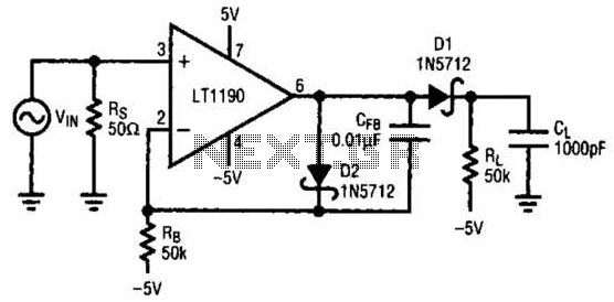 [NB_0234] Peak Detector Circuit Wiring Diagram