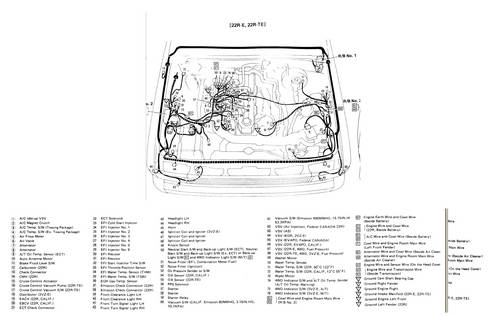 [DIAGRAM] 1987 Toyota Pickup 4wd 22r Engine Wiring Diagram