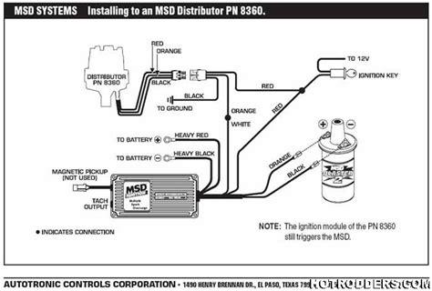 msd distributor 8360 wiring diagram  pietrodavicoit power
