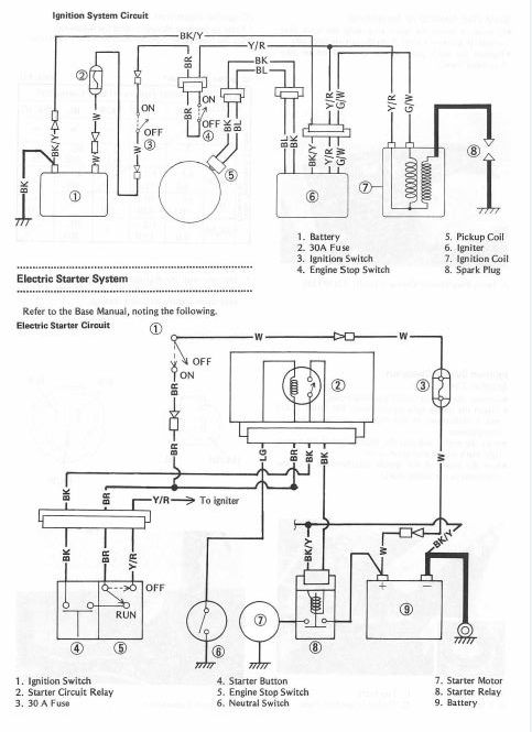 [RD_9758] Kawasaki Klf300B Wiring Diagram Schematic Wiring