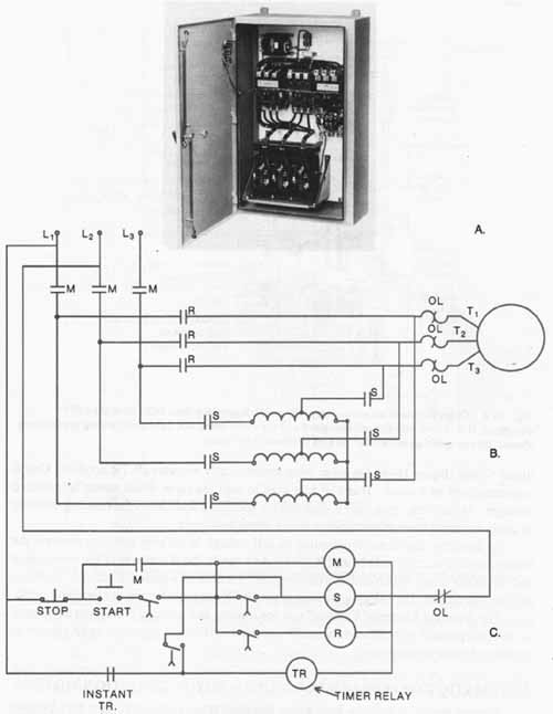 3 Phase Motor Starter Diagram