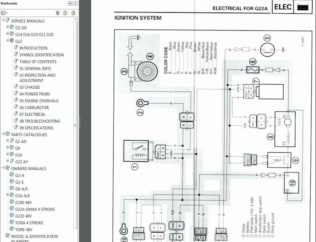 Yamaha G22 Golf Cart Wiring Diagram / 36 Volt Ez Go Golf