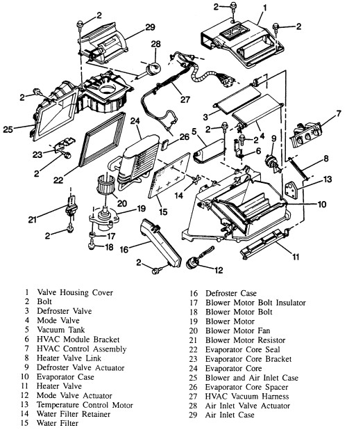 [VH_1996] 2001 Chevy S10 Parts Diagram Auto Parts Diagrams
