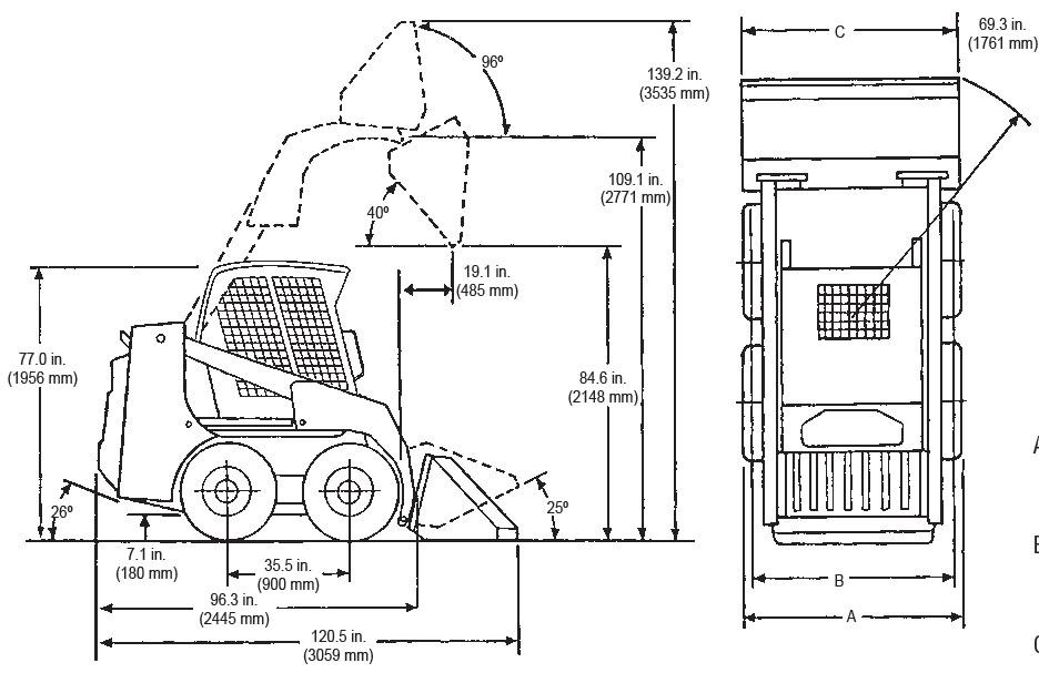 [ND_7807] Bobcat 753 Loader Diagram Schematic Wiring