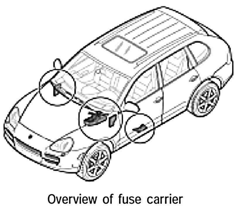 [VK_8480] Fuse Box Porsche Cayenne Wiring Diagram