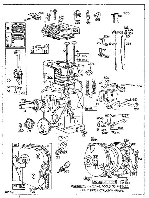 [NA_2326] Briggs Stratton 10 Hp Engine Parts Model