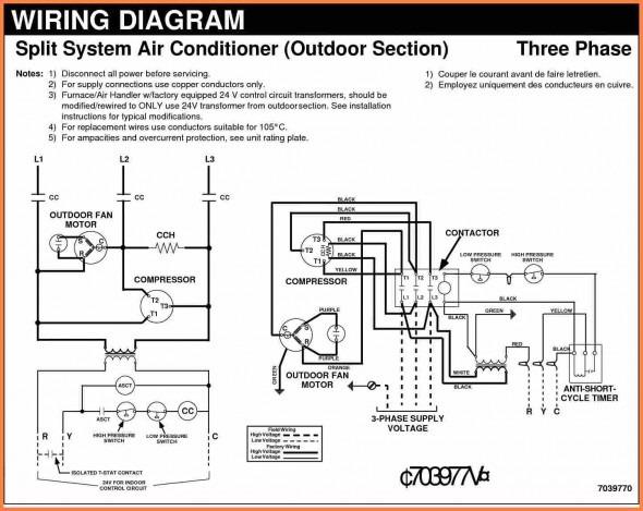 [SN_6320] Copeland Single Phase Wiring Diagram Download
