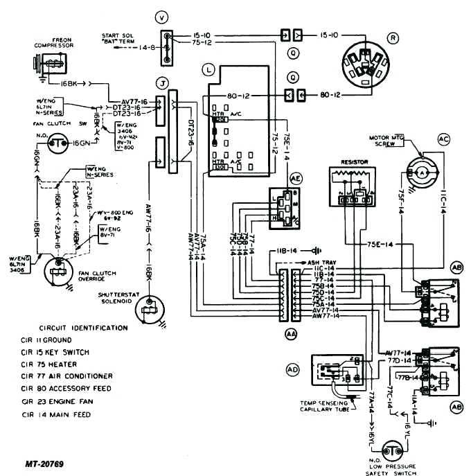 Home Air Conditioner Wiring Diagrams / Typical Home Air
