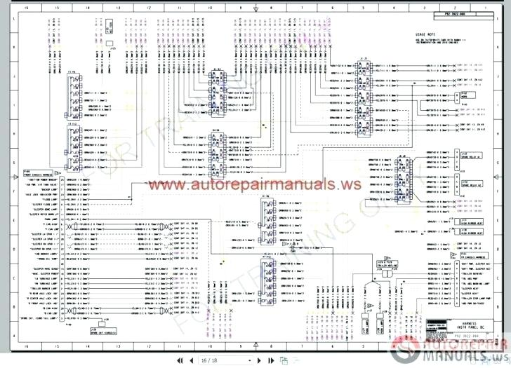 Kenworth T800 Fuse Panel Diagram : 2 / It shows the