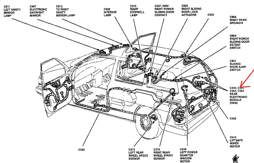 [AC_0950] 2002 Ford Explorer Exhaust System Diagram