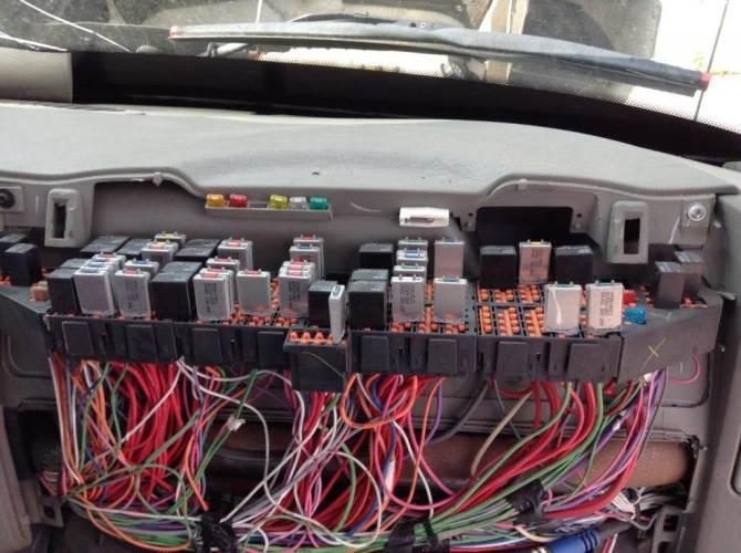 international prostar fuse box  description wiring diagrams