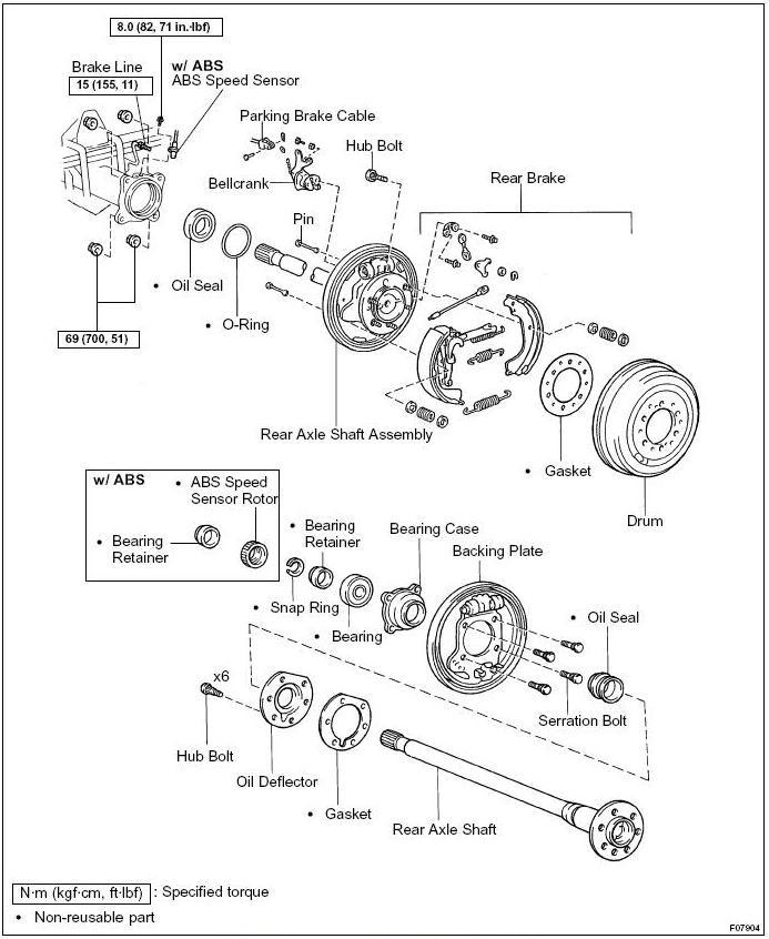 [DF_7368] Toyota Tundra Front Bumper Parts Diagram