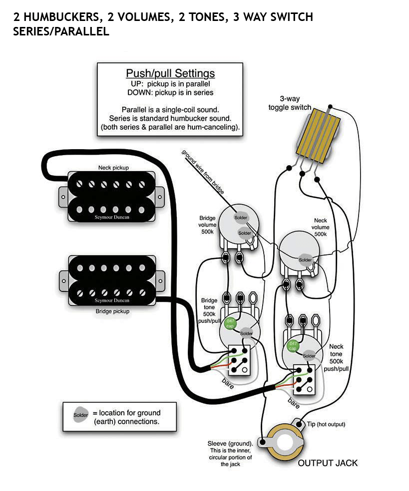 Gibson 3 Humbucker Wiring Diagram
