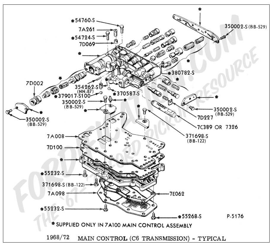 [KT_2752] Ford C6 Transmission Parts Diagram Schematic Wiring