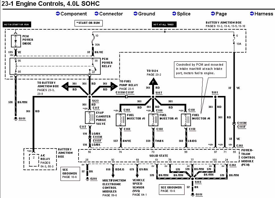 [NW_6028] 1998 Ford Explorer Schematics Schematic Wiring