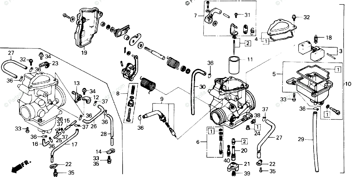 [RK_3682] Honda Recon Carburetor Diagram Wiring Diagram