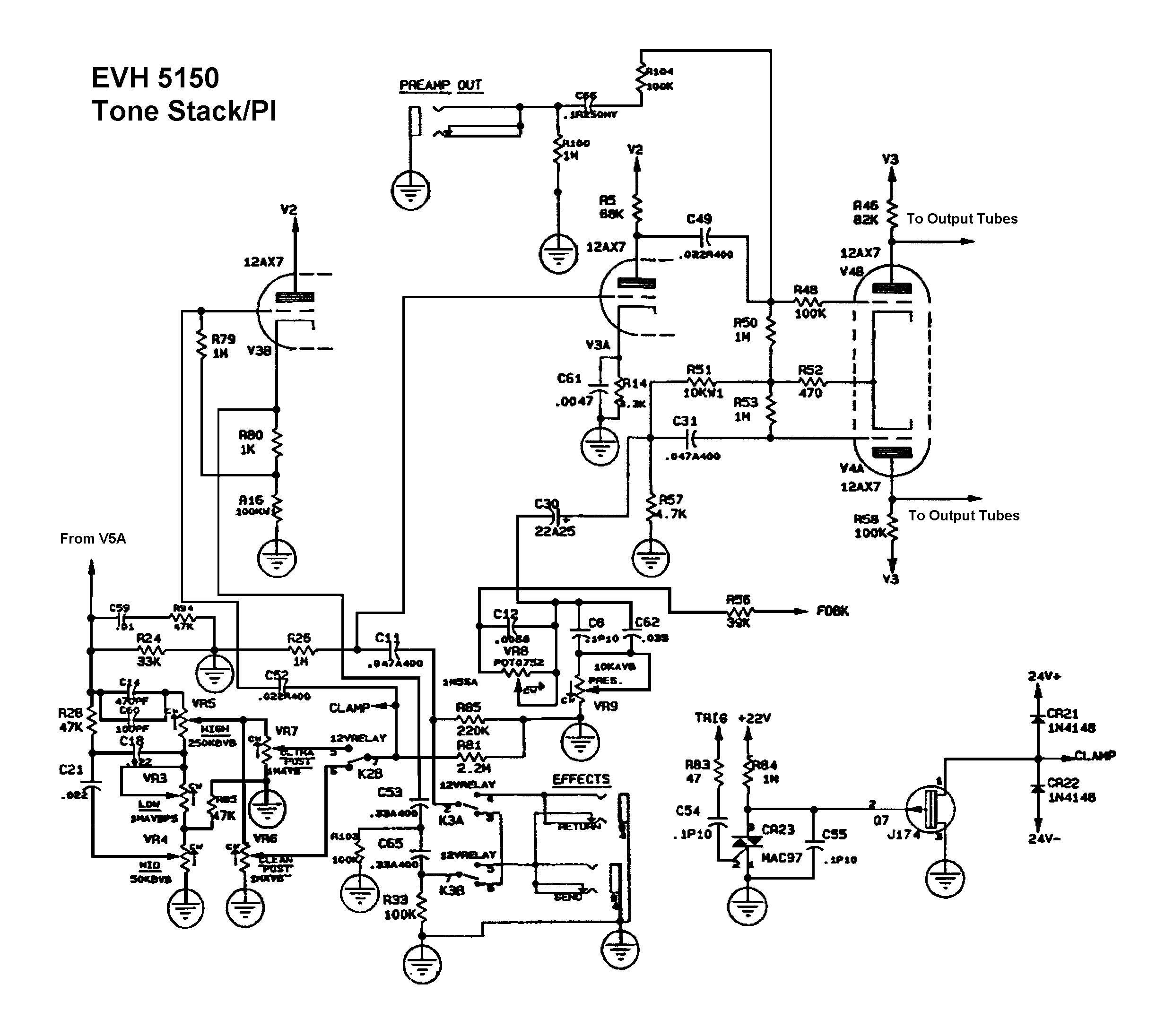 Peavey Wiring Diagram