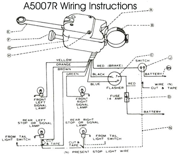 dr5893 led marker turn signal flasher wiring diagram