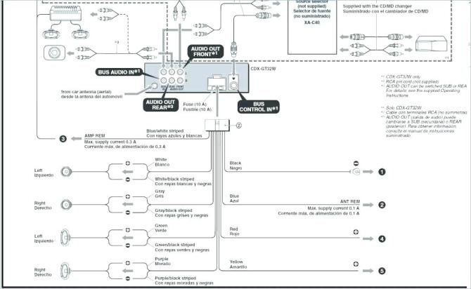 wt2778 car radio wiring diagram on how to wire a sony car