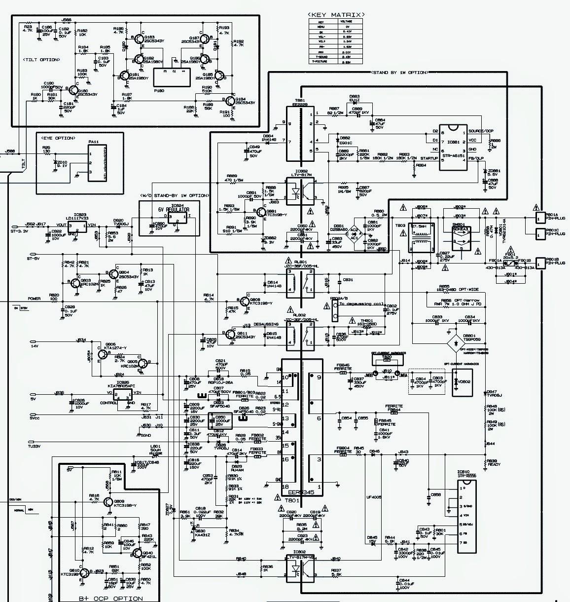 [29+] Schematic Diagram Of Crt Tv
