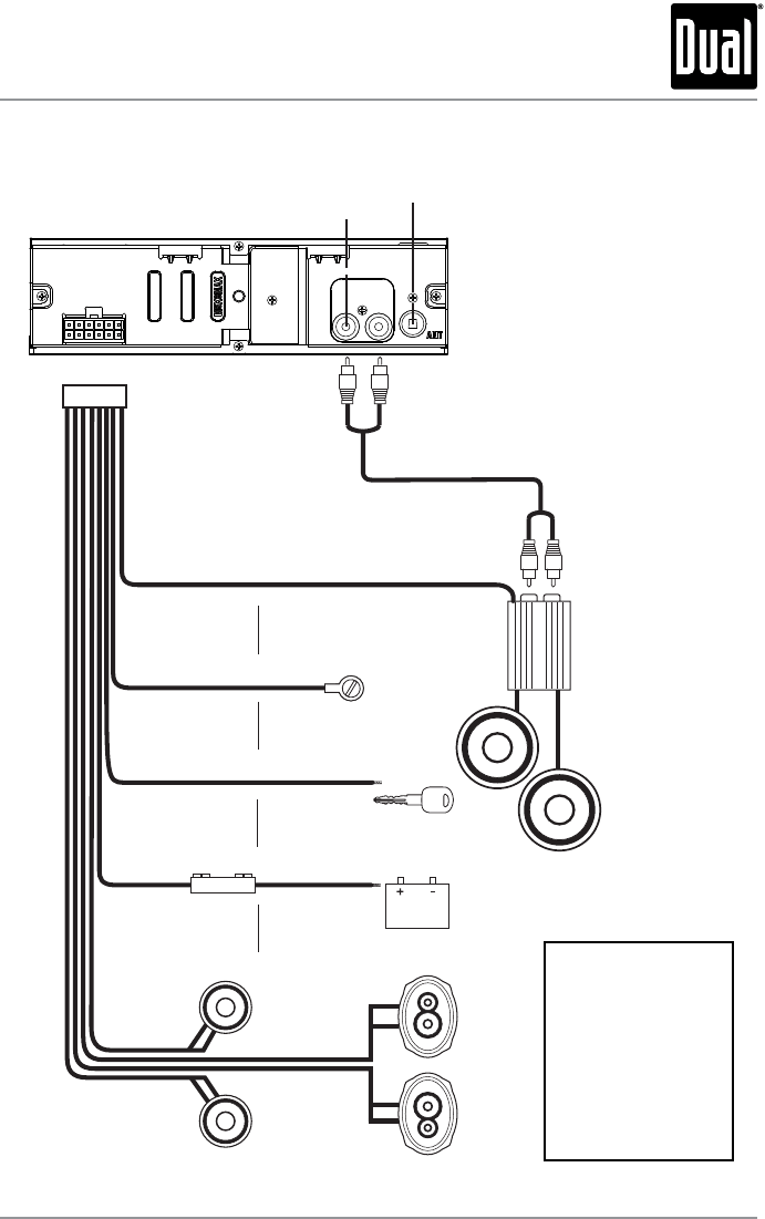 [VO_1826] Dual Xd1222 Wiring Harness Wiring Diagram