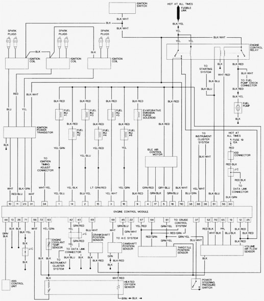2003 Mitsubishi Galant 24 Engine Wiring Diagram