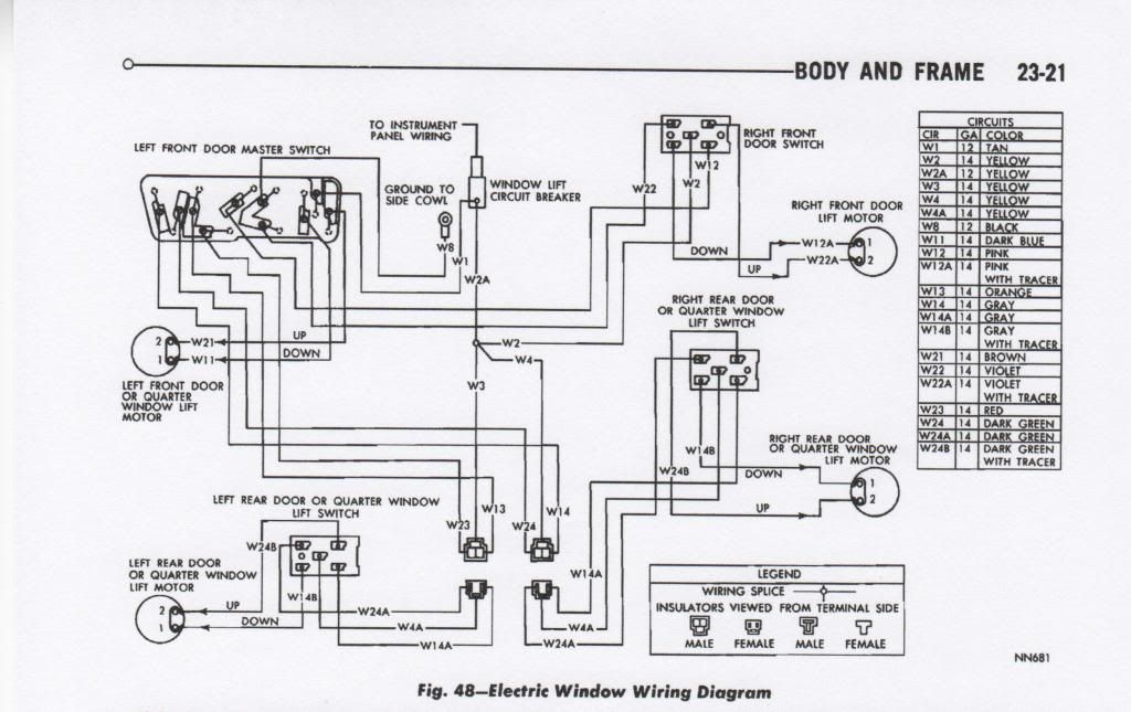 [RW_2363] Dodge Coronet Wiring Harness Free Diagram
