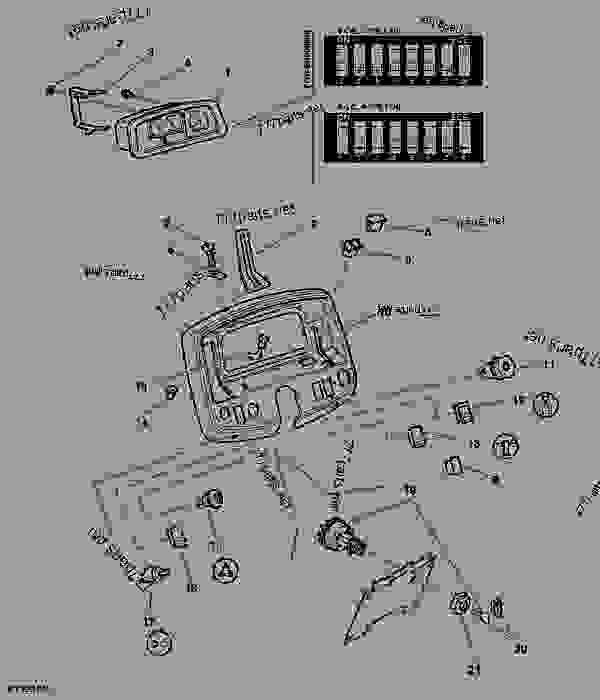 [VH_4443] John Deere 4960 Wiring Diagram Free Diagram