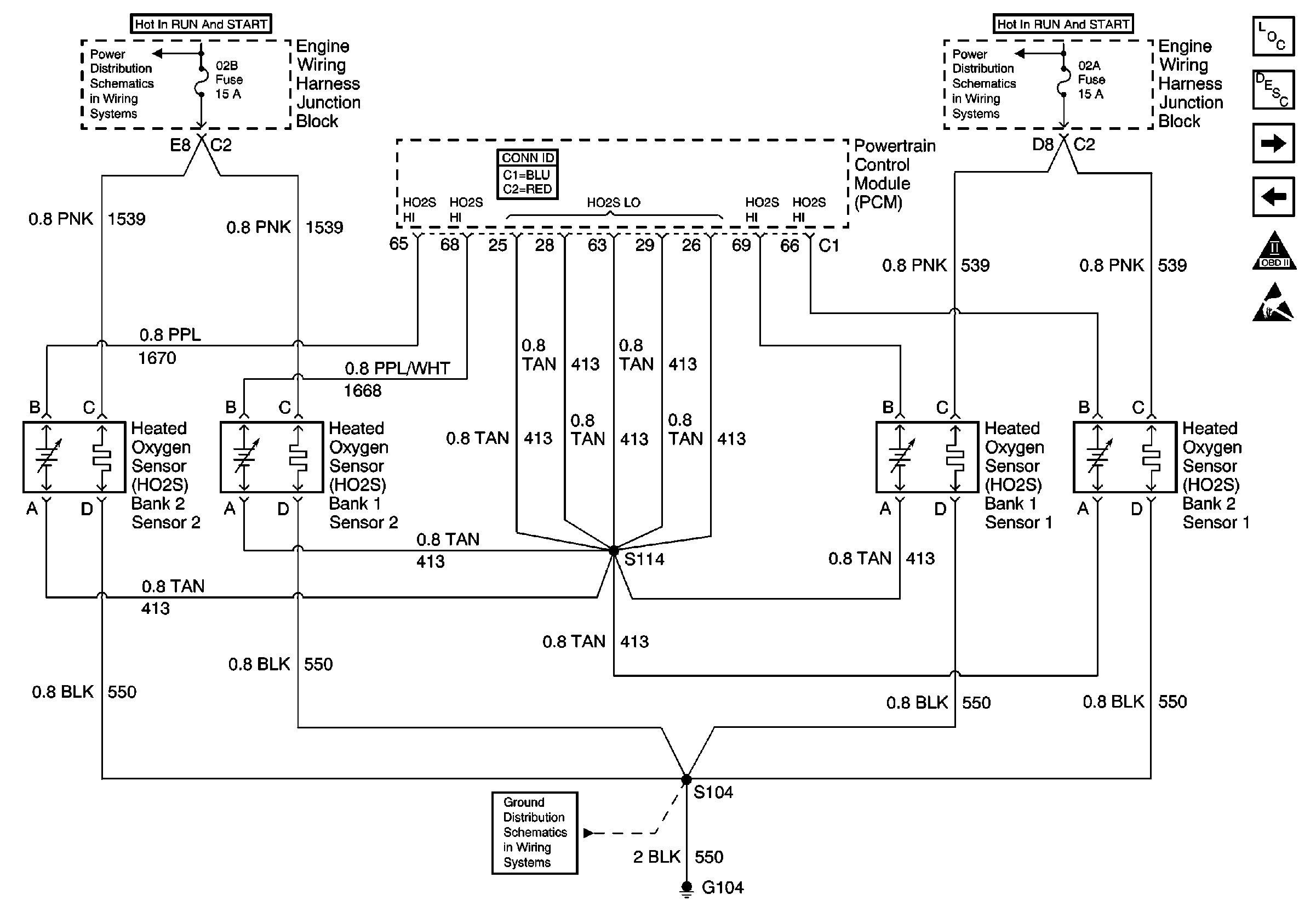 Bosch 5 Wire Oxygen Sensor Wiring Diagram