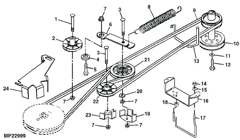 [BB_0684] Mower Belt Diagram Together With Troy Bilt Lawn