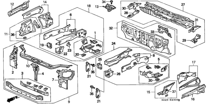 Honda Accord Oem Parts List