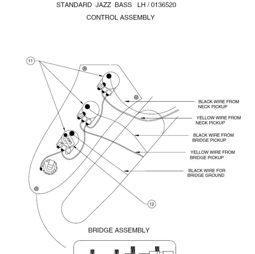 [XZ_4370] Jazz Bass Series Parallel Wiring Diagram Wiring
