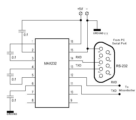 [FC_1533] Rs232 Ttl Converter Circuit Free Diagram