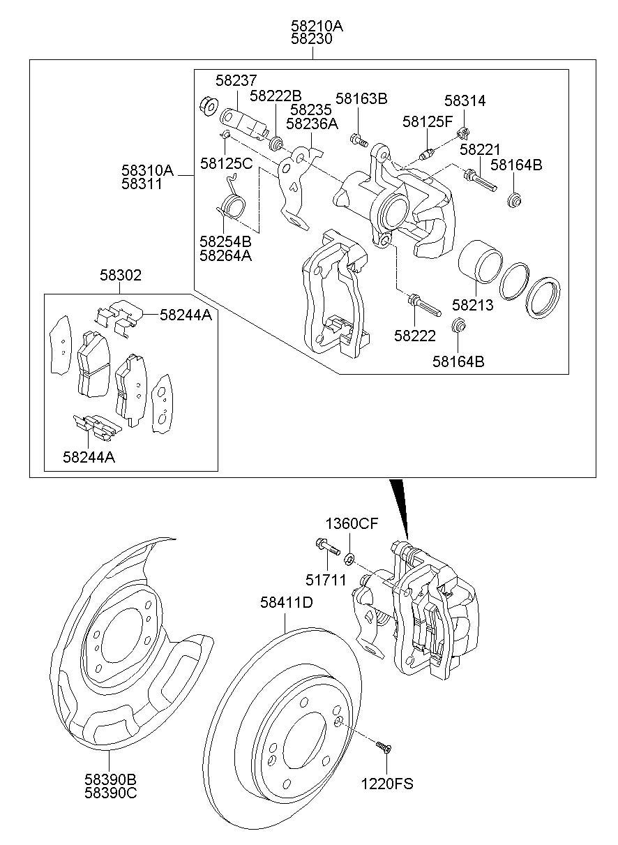 [NA_8496] Hyundai Brakes Diagram Free Diagram
