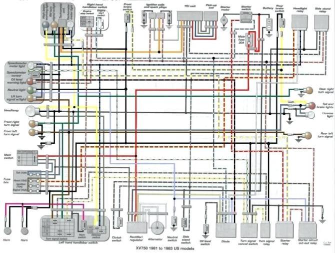 1982 yamaha 750 virago wiring diagram  pietrodavicoit