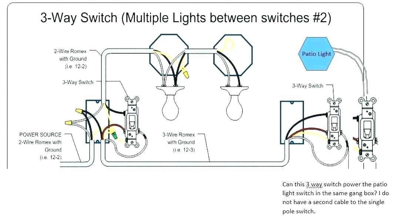 Wiring Diagram Gallery: Wiring Diagram Single Pole Light