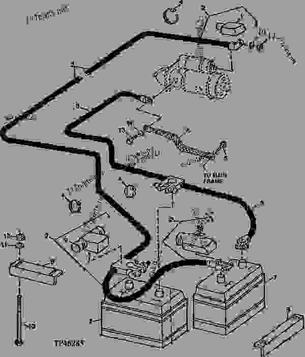 [DS_1109] John Deere 310C Backhoe Wiring Diagram John
