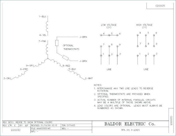 el9839 phase motor wiring diagram on baldor reliance motor