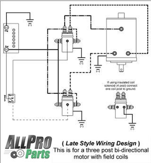 dc winch motor wiring diagrams  rover cruise control