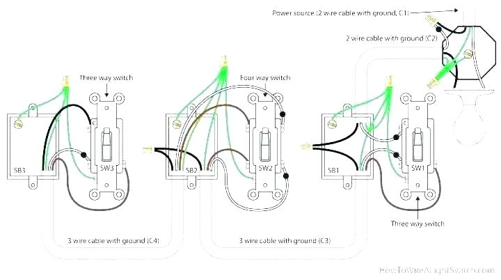Wiring Diagram For Dimmer Switch Single Pole / Diagram Le
