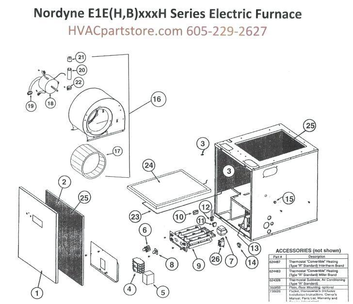 Nordyne Wiring Diagram For Mobile Home Furnace Collection