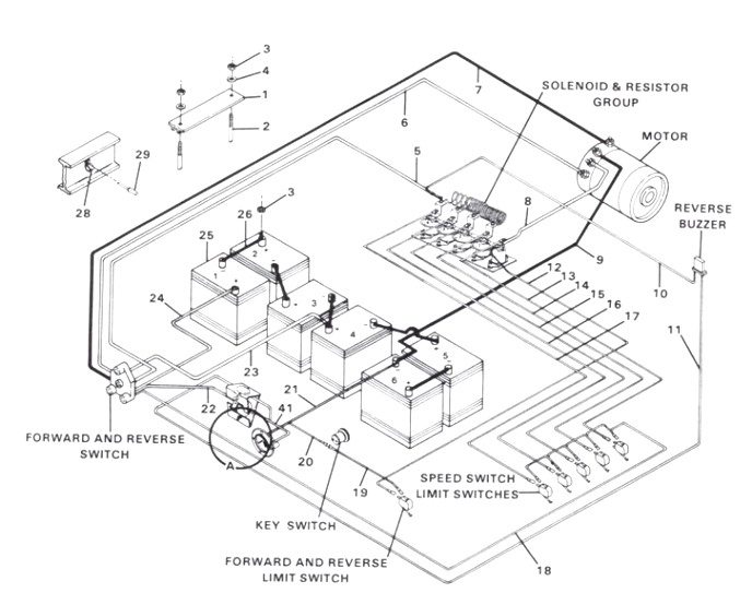 [34+] 36 Volt Ezgo Golf Cart Wiring Diagram
