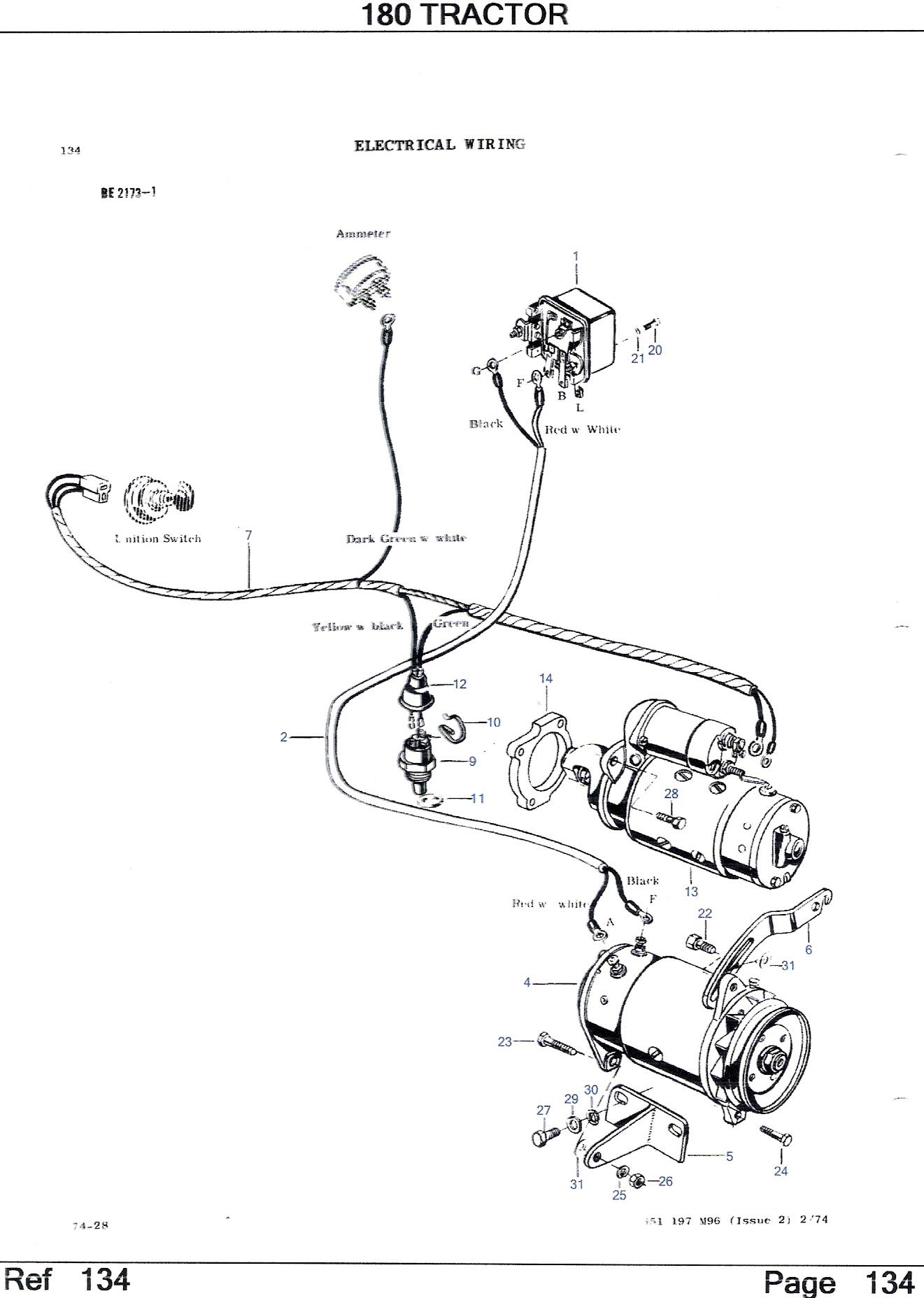 Massey Ferguson 35 Engine Diagram / Massey Ferguson 135