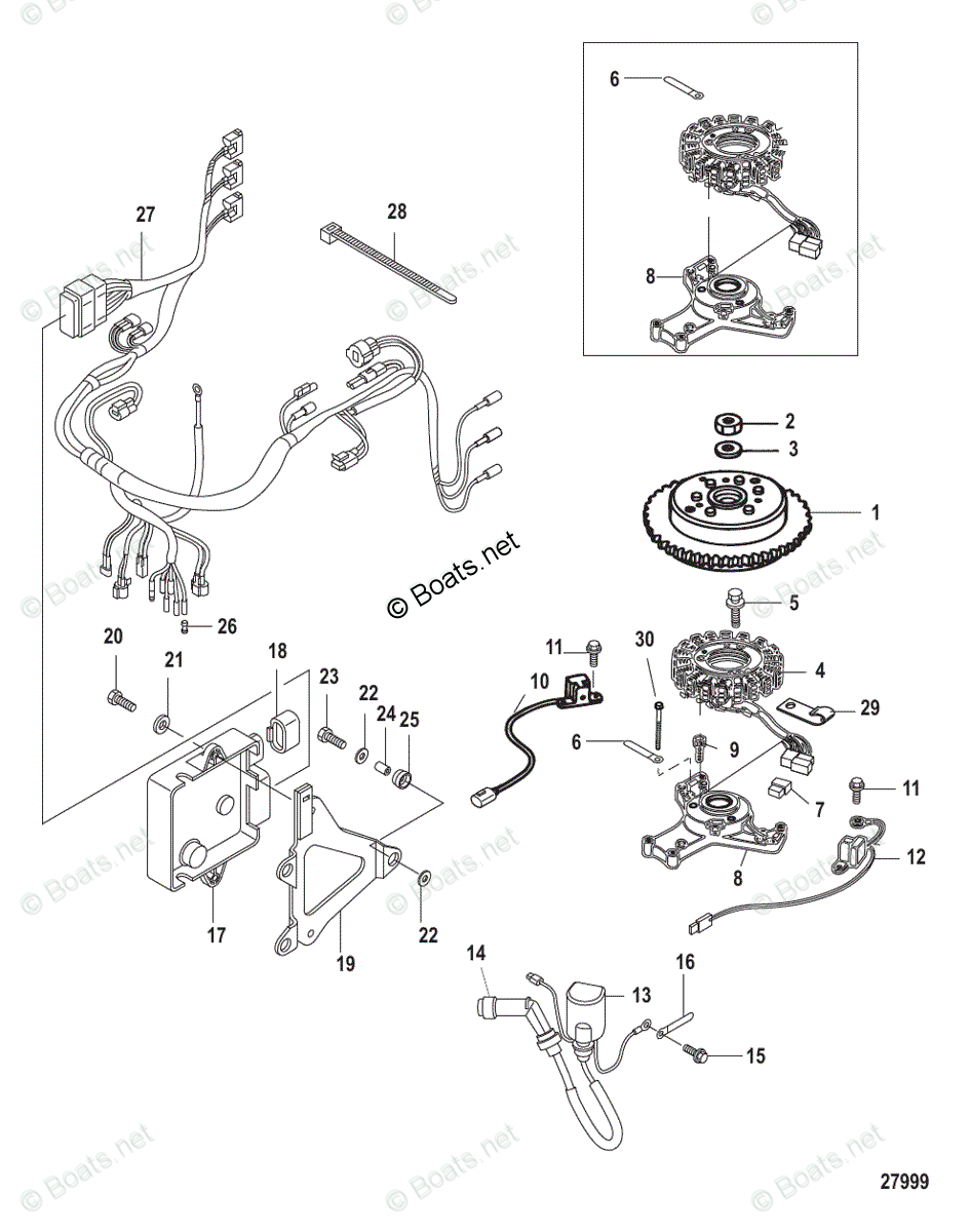 [ZE_7580] Wiring Diagram For 25 Hp Mercury Outboard Free