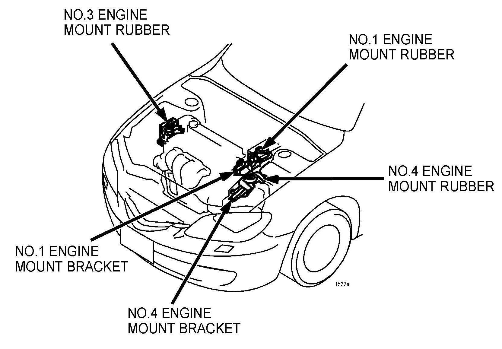 [KE_6684] Dodge Neon Engine Mount Diagram Wiring Diagram