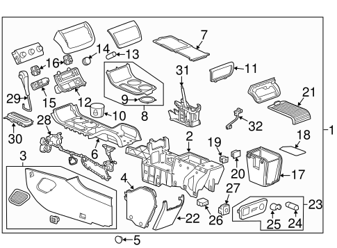 [KC_4800] 2011 Chevy Traverse Parts Diagrams Auto Parts