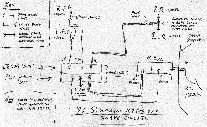 [XR_4478] Chevy Silverado Brake Line Diagram On 99 Chevy