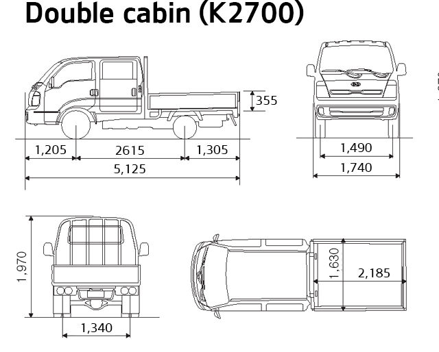[SD_2309] Kia K2700 Wiring Diagram Schematic Wiring